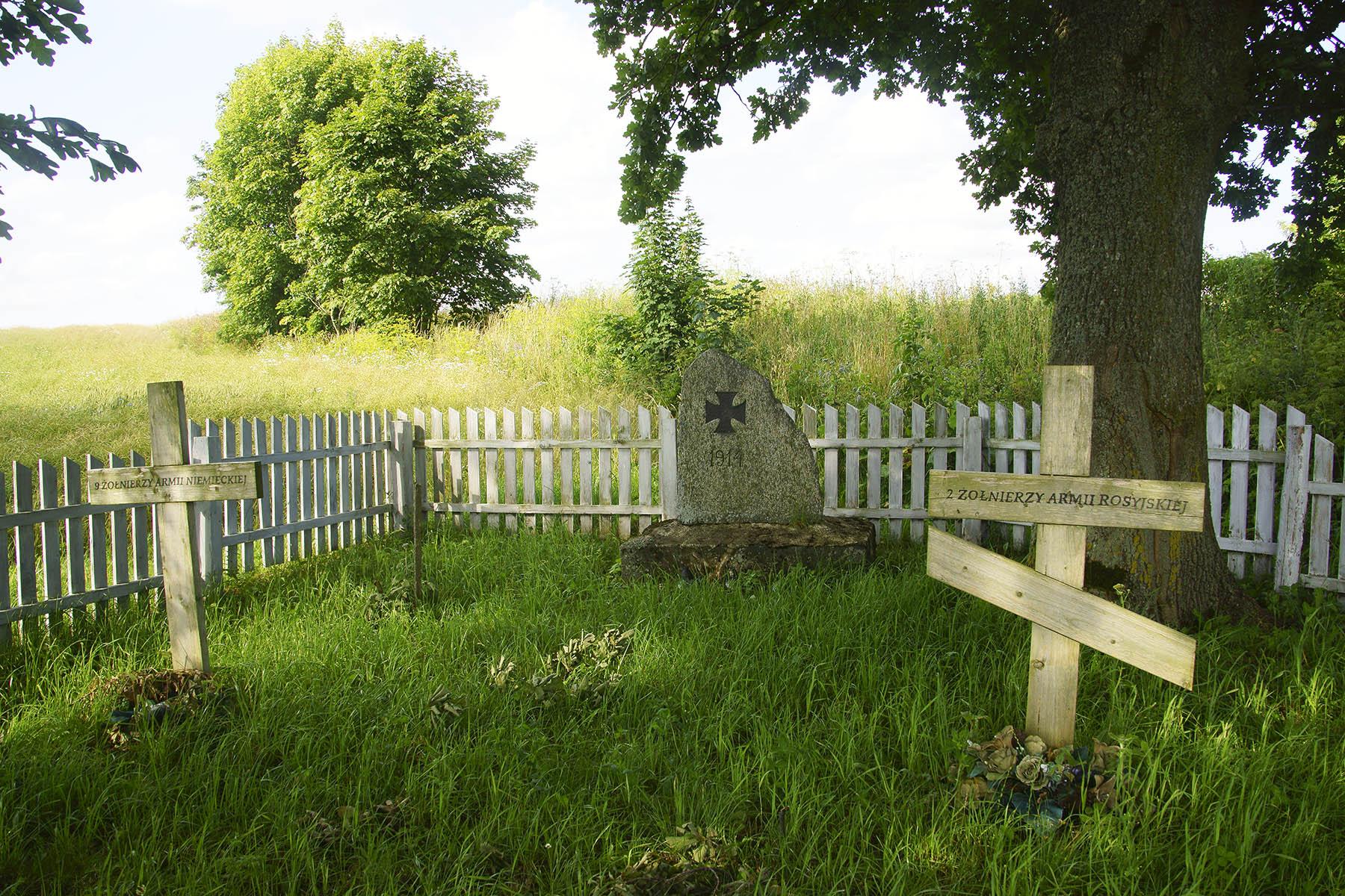 Cmentarz z I wojny światowej w Zabroście Wielkim