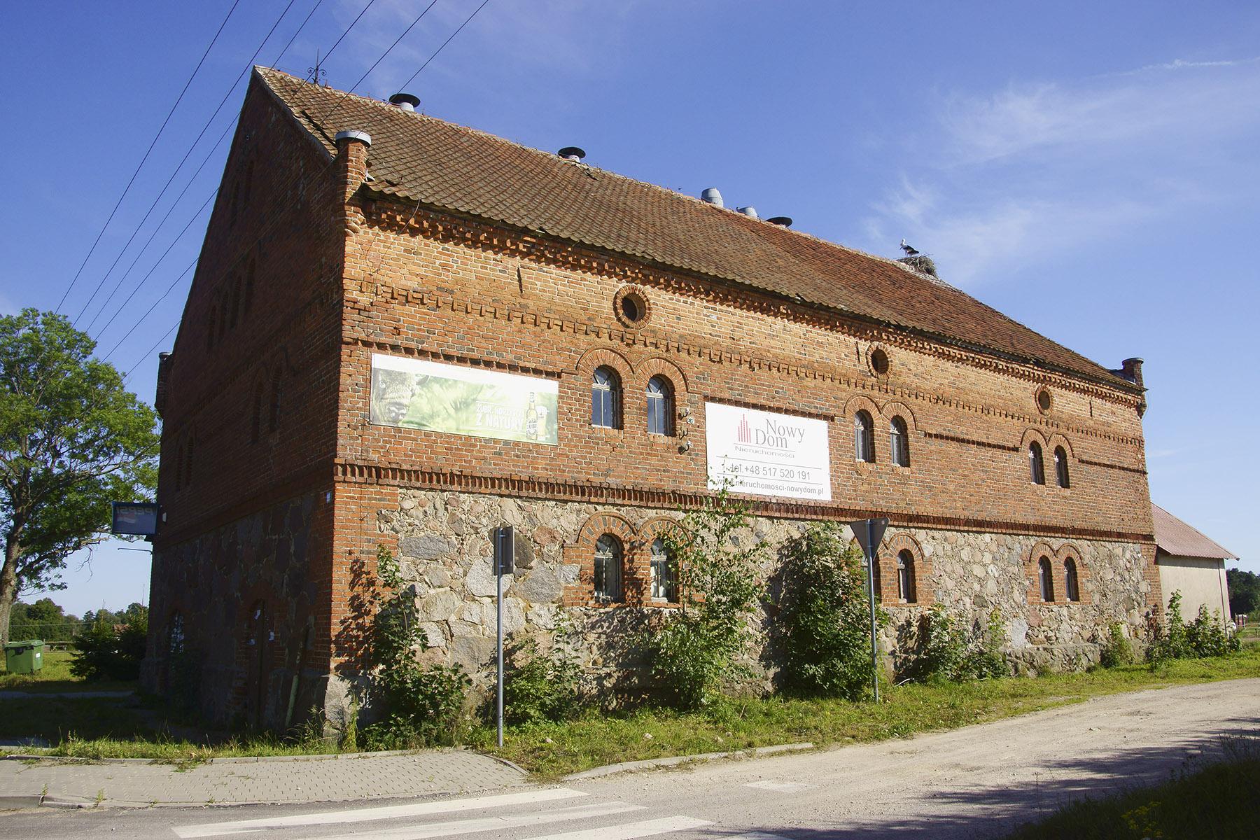 XIX-wieczny młyn w Popiołach